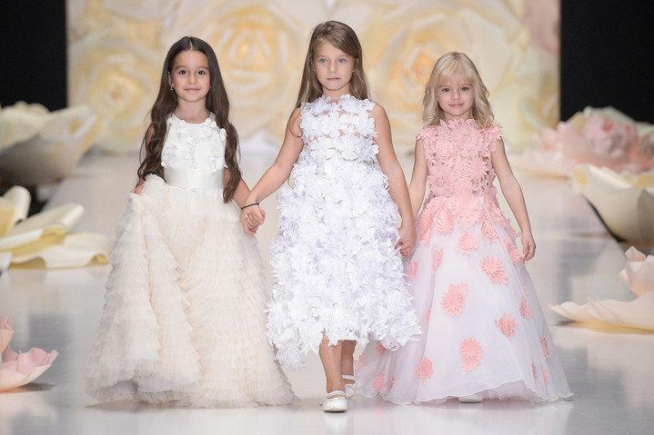 Звезды на показе Юлии Прохоровой Beloe Zoloto в рамках Mercedes Benz Fashion Week