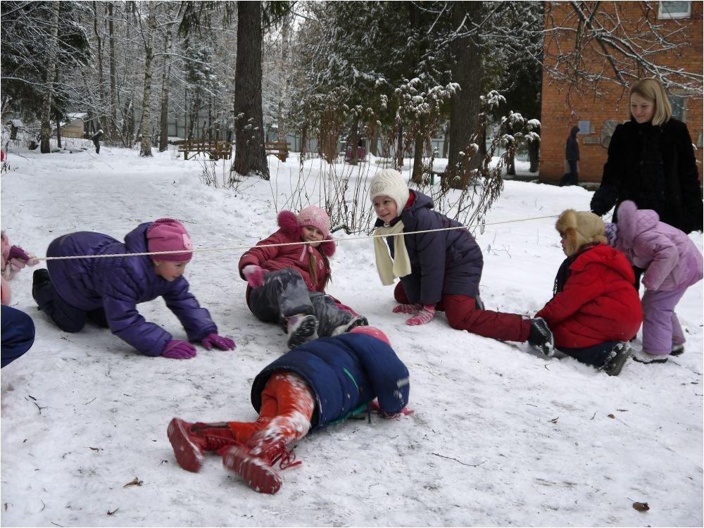 с фотографиями игры зимние