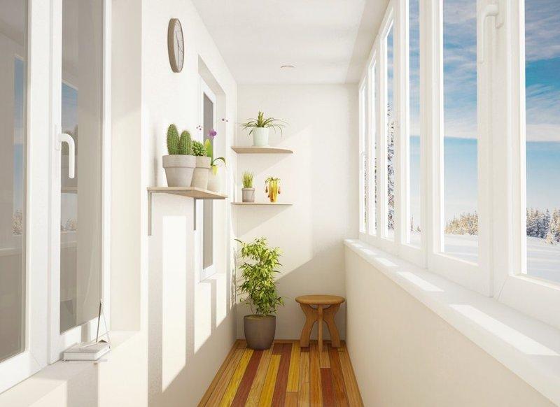 """Простое и красивое оформление балкона """" - карточка пользоват."""