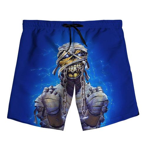 Мужские шорты 3D Iron maiden 7