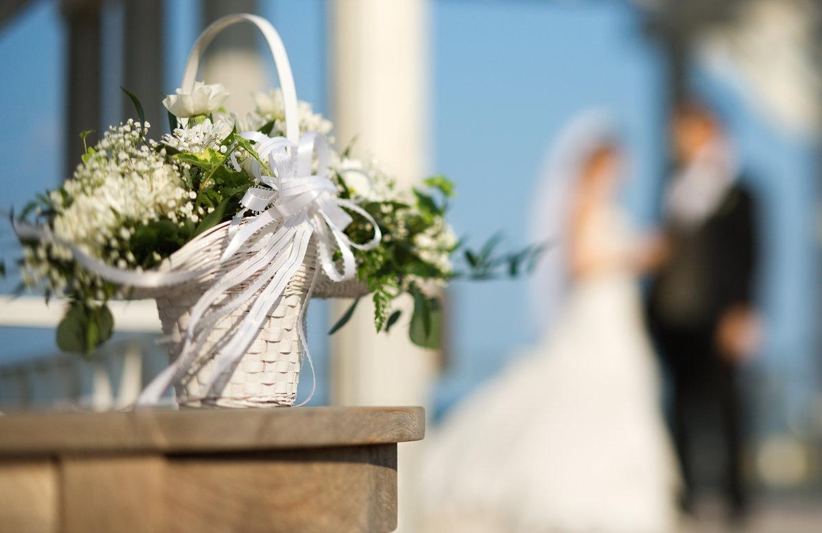 Пожелания, открытки со свадебными букетами