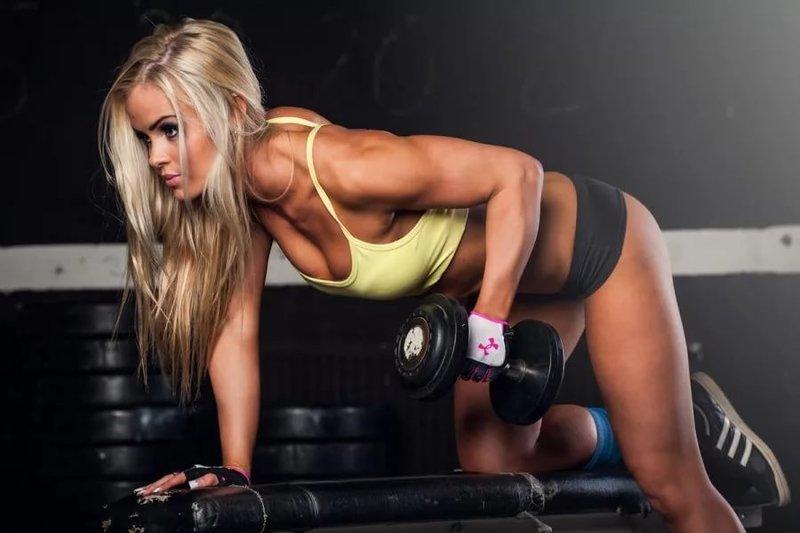 Сексуальные девушки фитнес