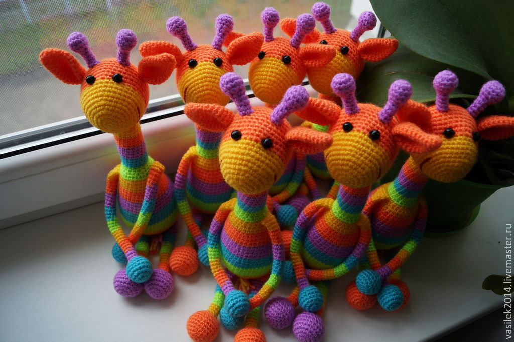 Вязание для начинающих в картинках игрушки