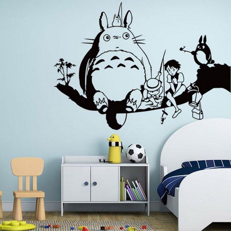 картинки на стену в комнату распечатать прикольные распечатка погрузить ёжика туман