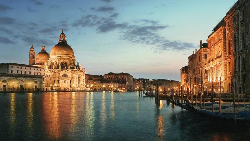 Венеция, размер: 1366x768 пикселей