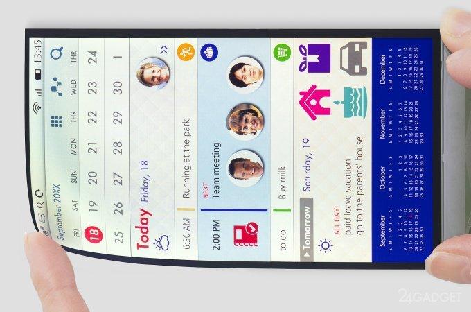 Japan Display, один из основных поставщиков дисплеев для Apple, представил 5.5-дюймовый ЖК-дисплей, который можно изгибать также, как OLED-дисплеи от Samsung и LG. Новинка изготовлена по тех