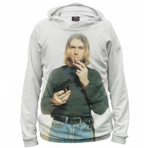 Женская толстовка 3D Kurt Cobain