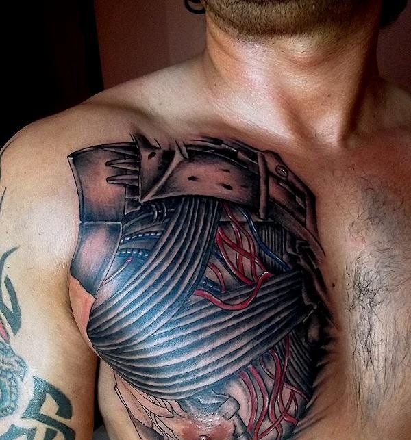 биомеханика на груди