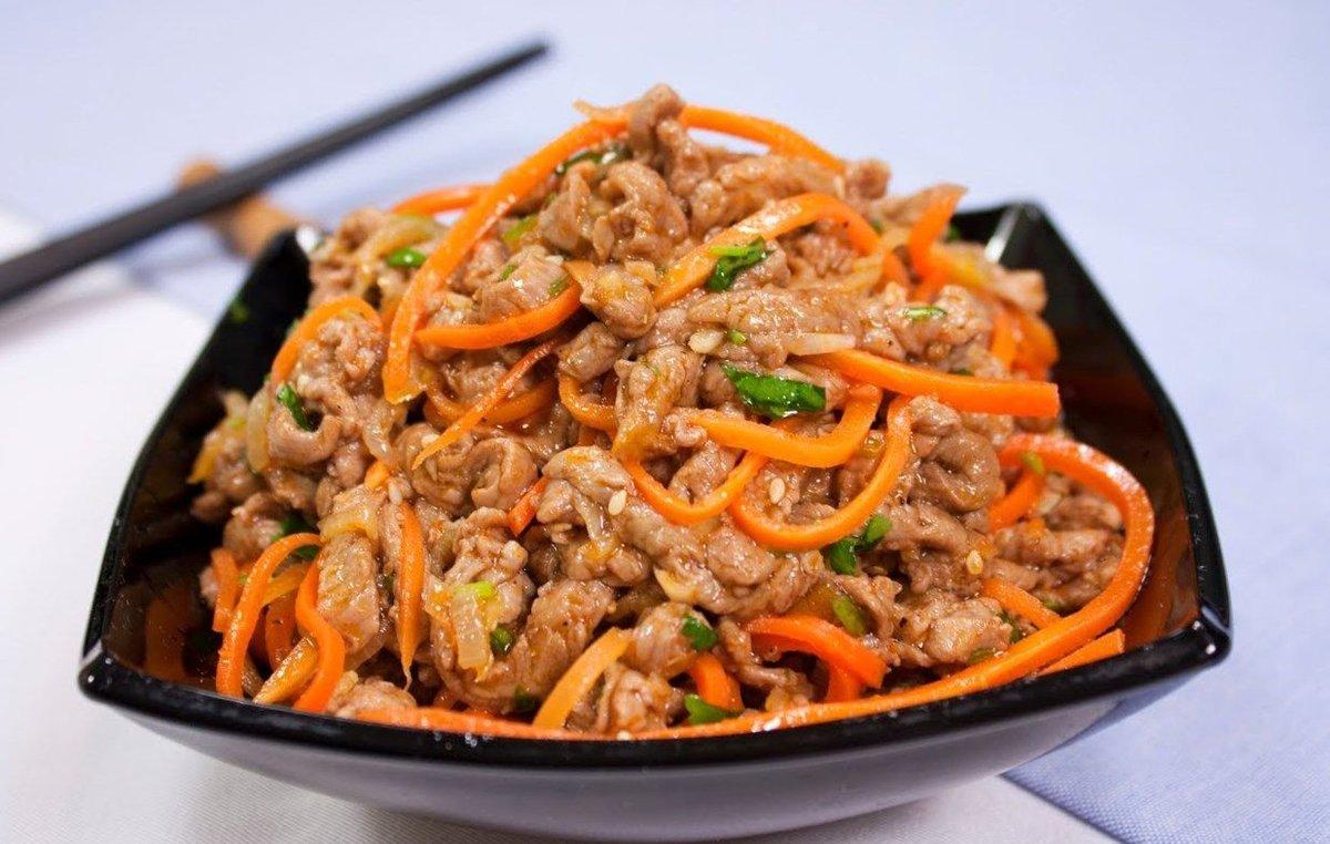 Корейские блюда из мяса