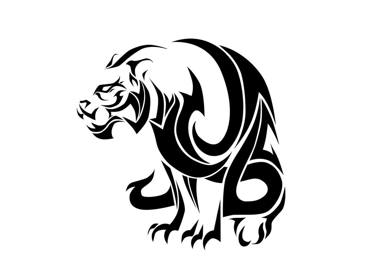 tribal tiger designs - HD1200×900