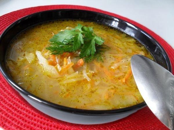 как называется суп с капустой