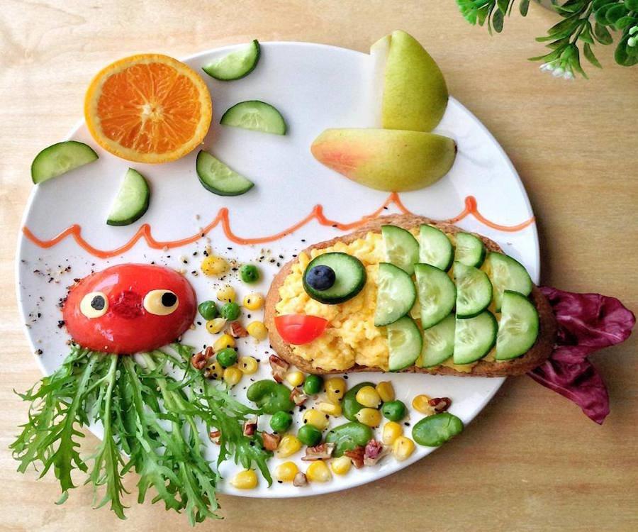 Детская блюда в картинках