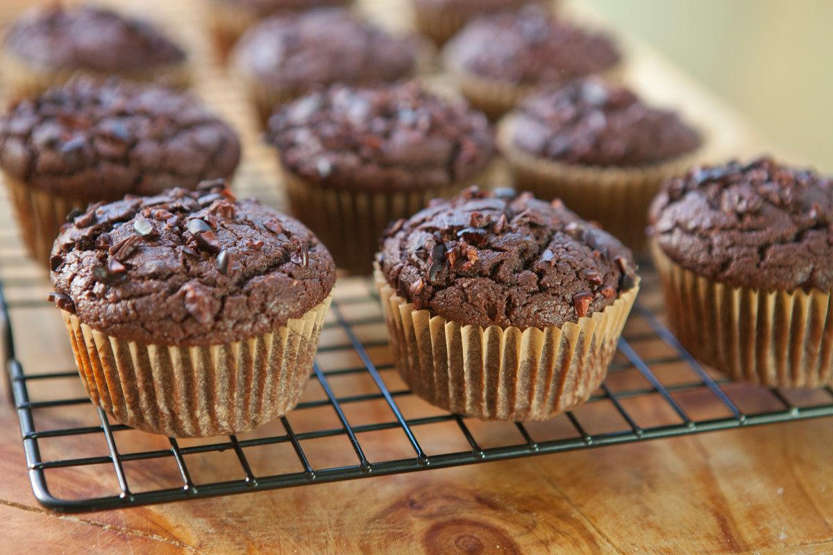 Рецепт шоколадных маффинов с фото