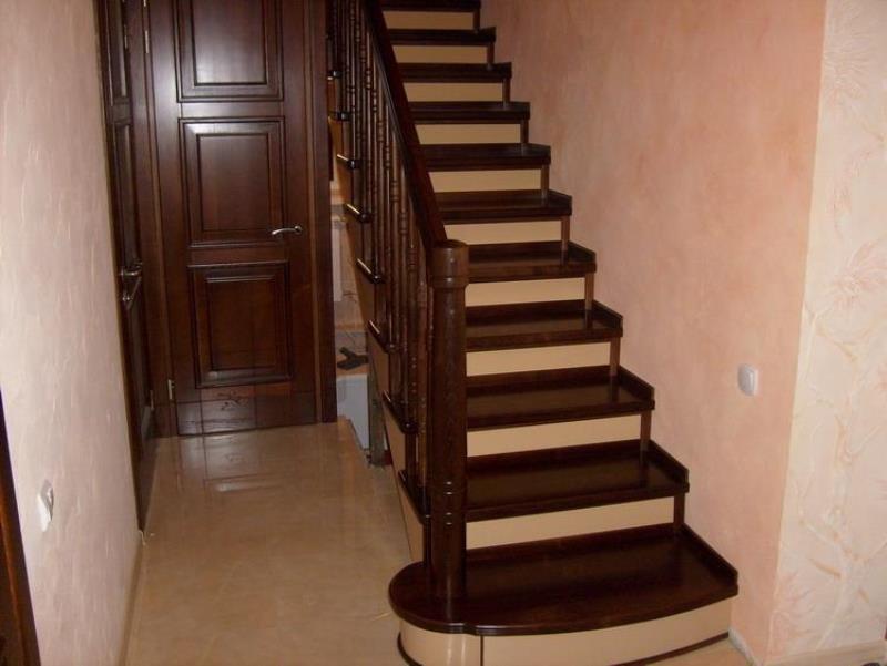 В картинках как сделать лестницу 147