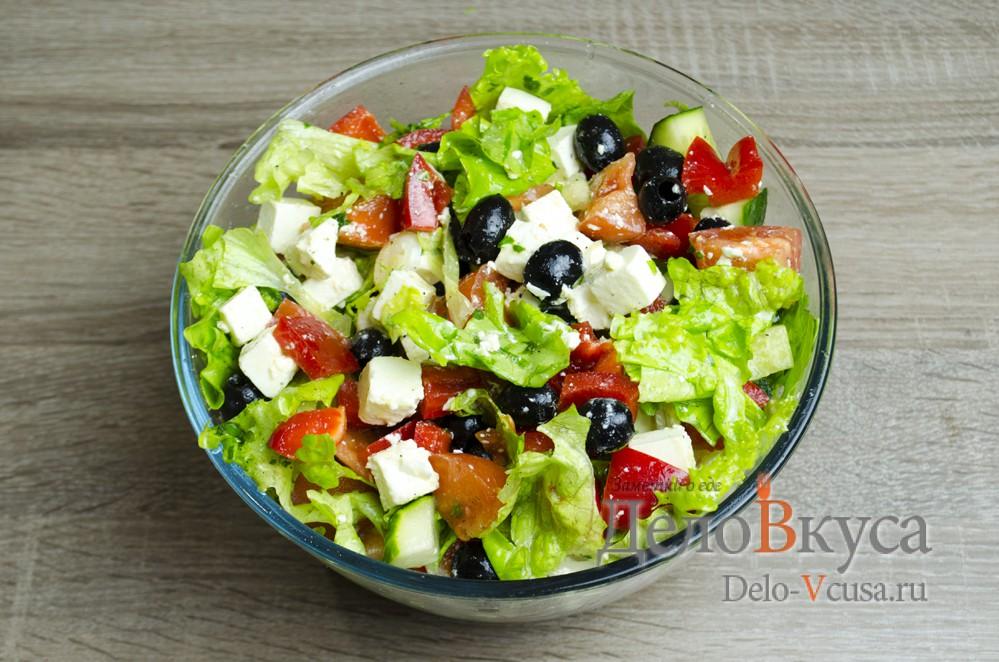 салат греческий рецепт с фото классический