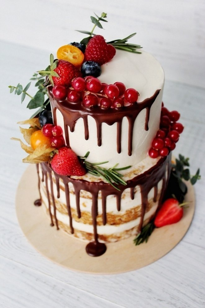 услуги двухъярусный торт без мастики рецепт с фото шторы