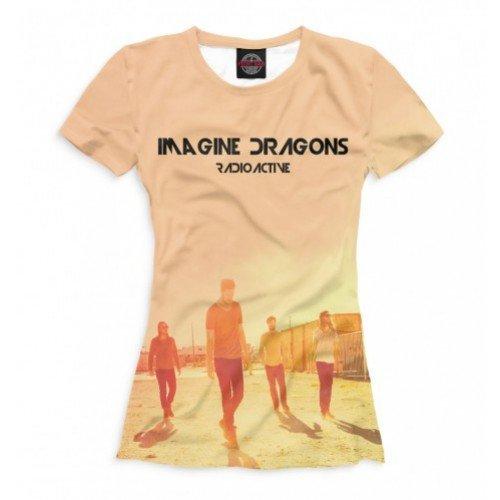 Женская футболка 3D Imagine Dragons