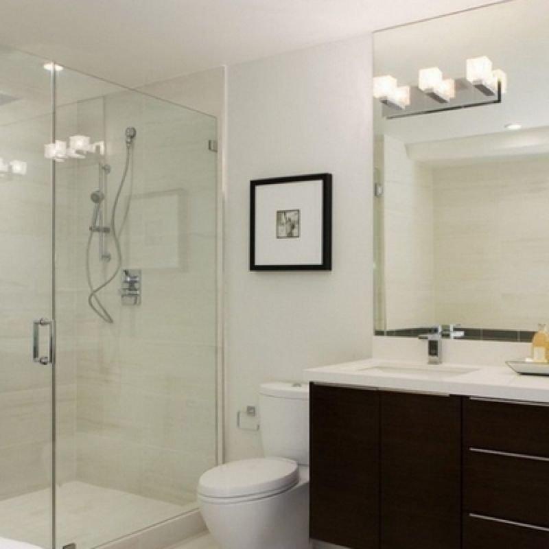 Как оформить качественное освещение в ванной комнате? .