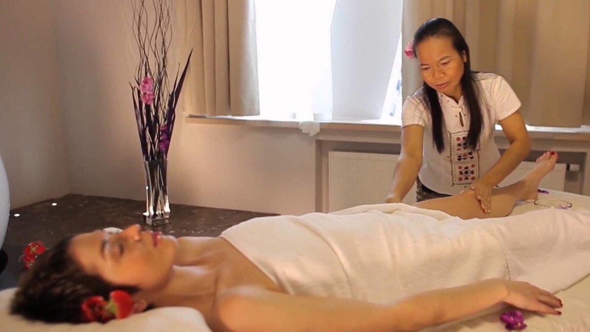Тайские массажи видео
