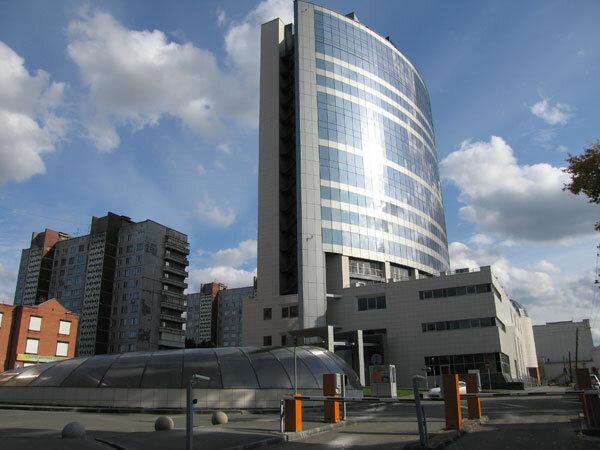 Бизнес-центр «Гринвич». Новосибирск