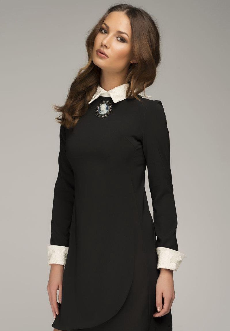 Черное платье с белым воротником » — картка користувача ... 3fb40c65b14