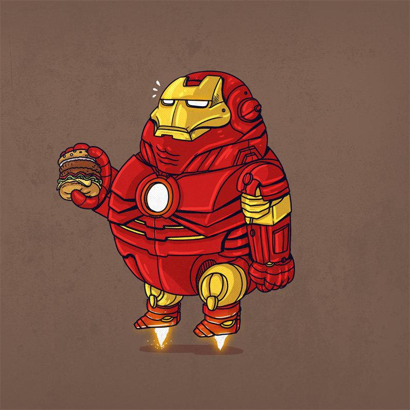 Прикольные картинки супергероев марвел