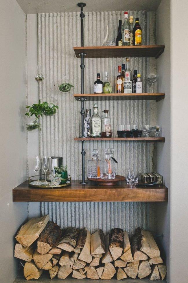 Домашний бар своими руками - идеи для домашнего бара Идеи