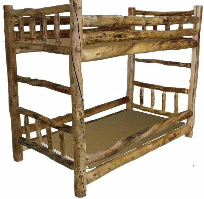 двухъярусная кровать своими руками из бруса