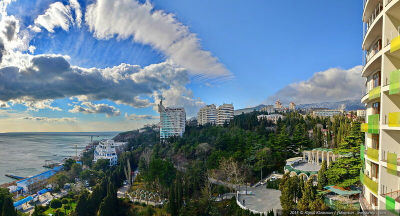 Летняя панорама в Крыму