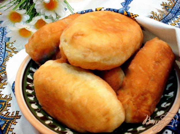 Пирожки на кефире пошаговый