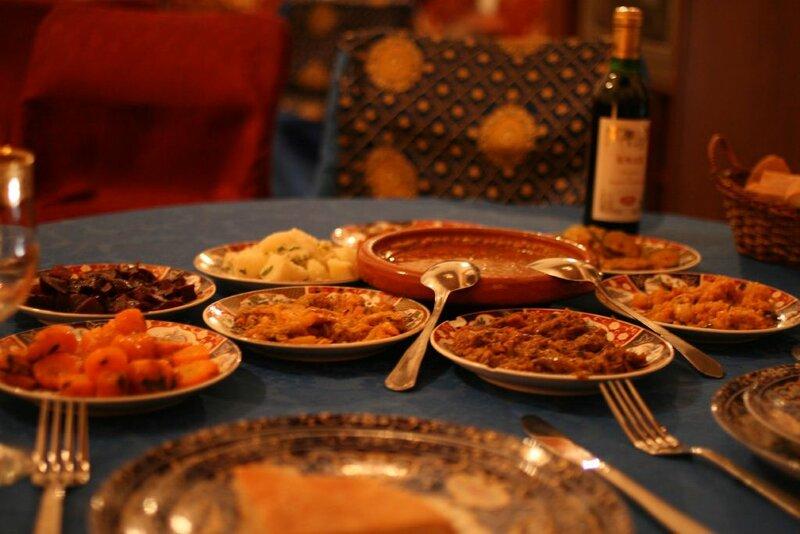 Марроканская национальная кухня