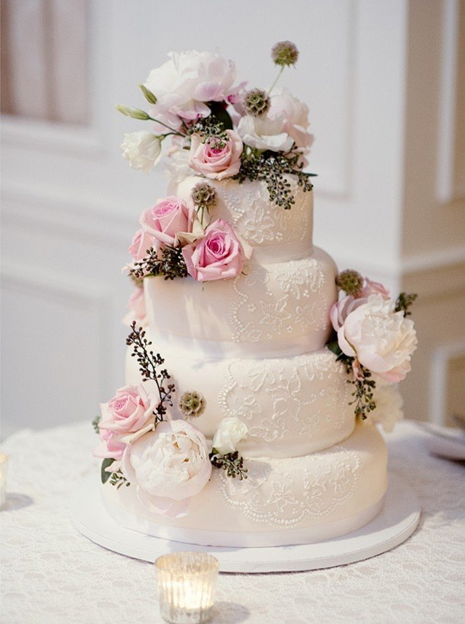 stunning purple wedding cake designs perfect wedding day - 658×883