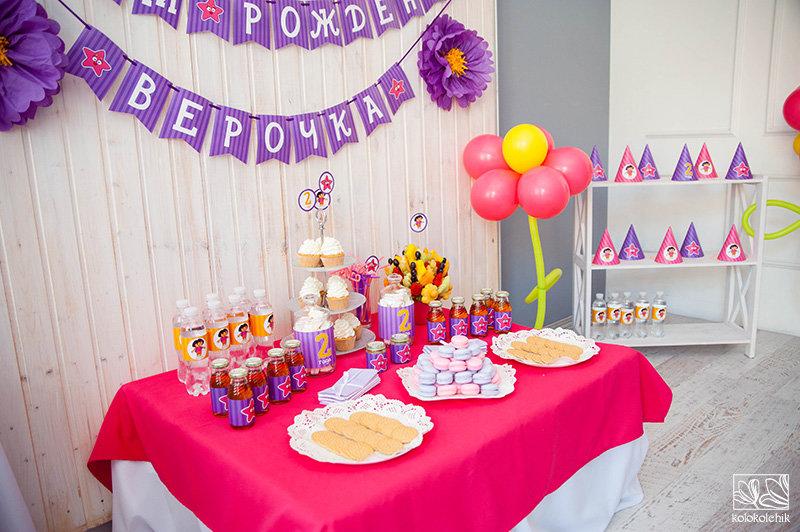 день рождения дочери 4 года сценарий макси