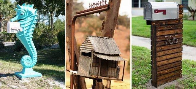 Сделать почтовый ящик своими руками не сложно и нужно, хотя на смену им давно пришла электронная почта. Узнайте 8 идей для создания этого атрибута для своего дома