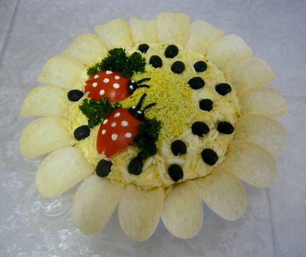 салат подсолнух в картинках рецепты