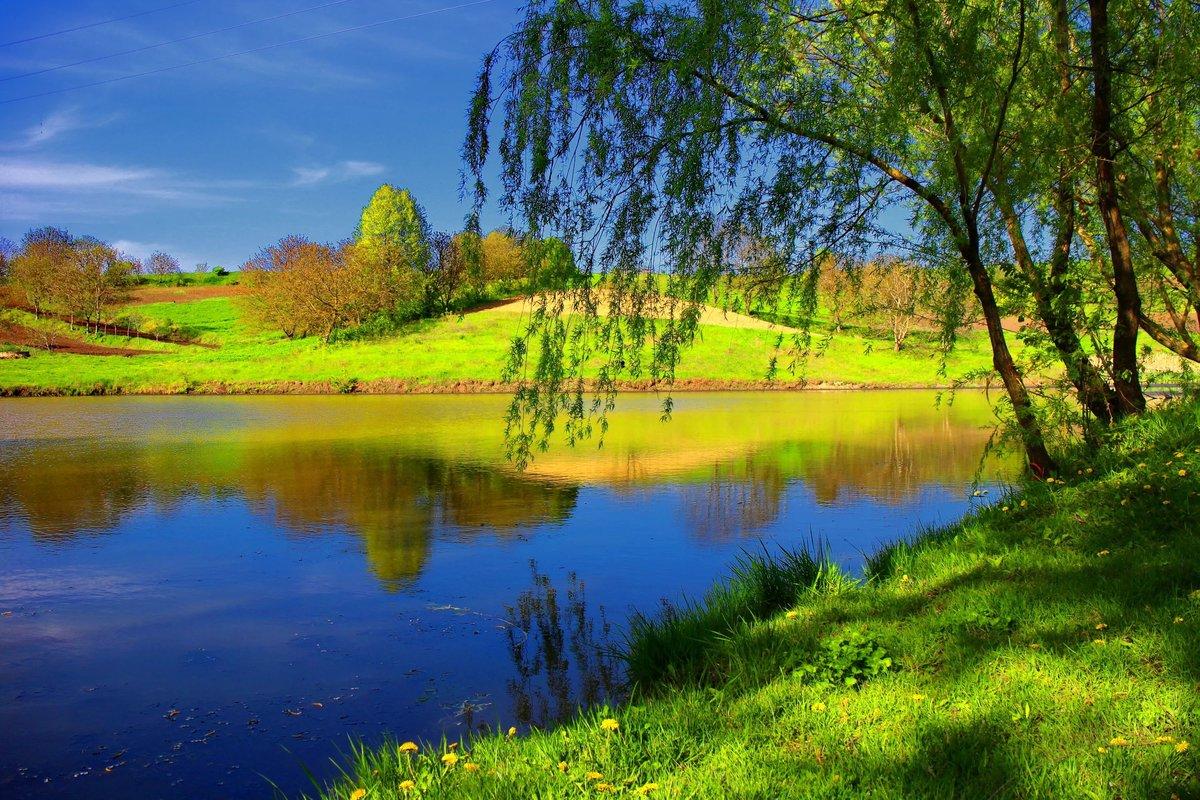 Картинки красивые летние пейзажи, винтаж скрапбукинг мастер