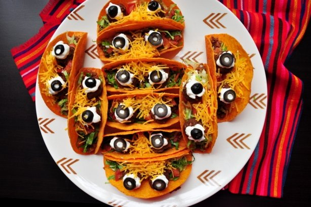 Рецепт на Хэллоуин «Подгладывающий буррито»