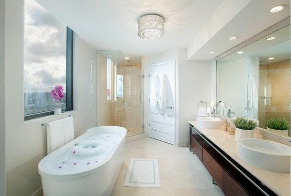 Лучшее освещение для ванной это – функциональность