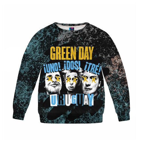Детский свитшот 3D Green Day