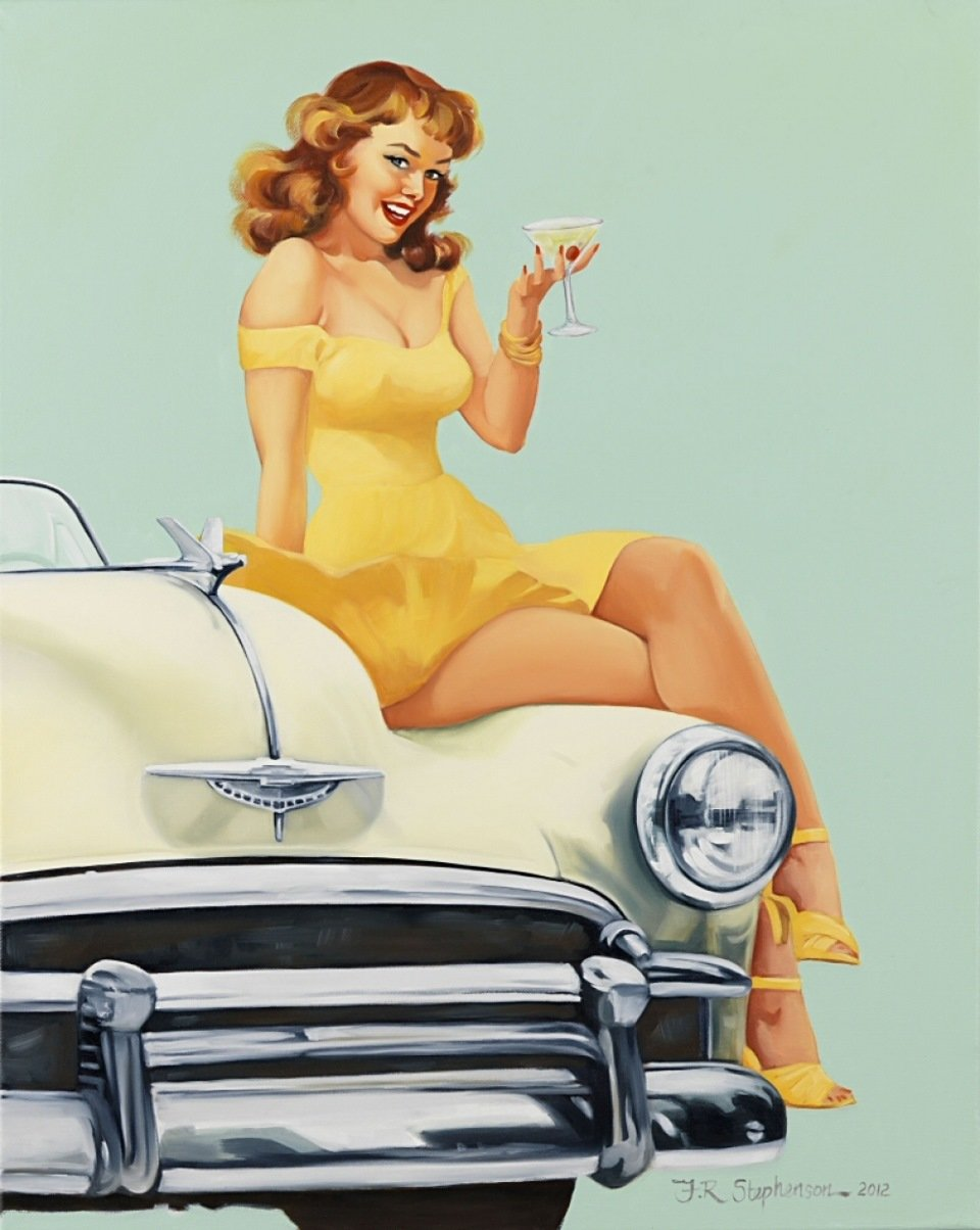 Открытки машины прикольные женщине