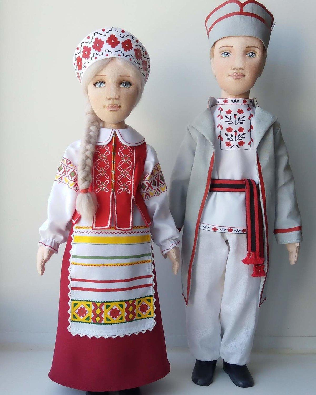 Картинки кукол в народных костюмах