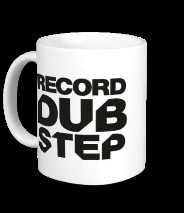 Кружка Record Dubstep