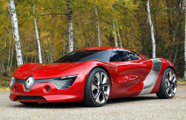 Концепт-кар Renault DeZir