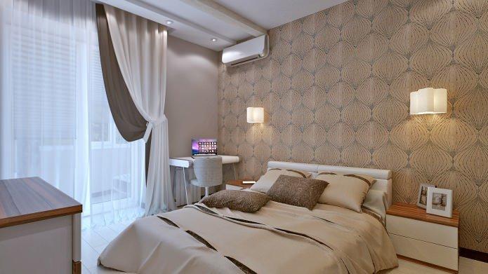 Трехкомнатная квартира 70 кв. м. расположена в панельном доме. Чтобы увеличить свободное пространство пришлось разрушить стену между кухней и гостиной.