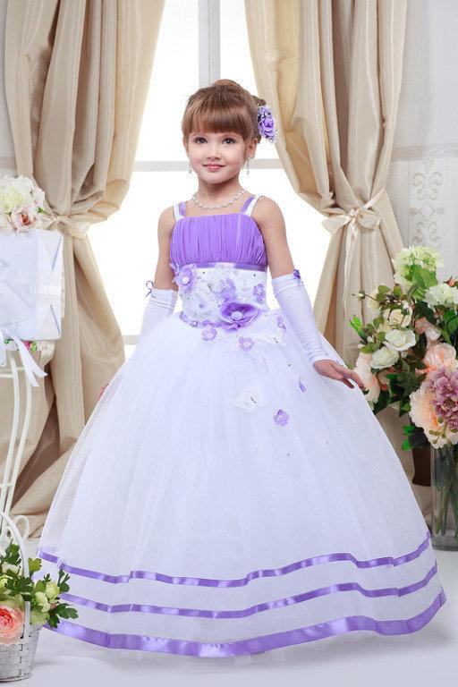 Детские платья для девочек на выпускной
