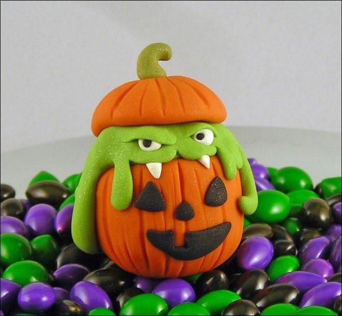 Поделки из пластилина картинки связанные с хэллоуином