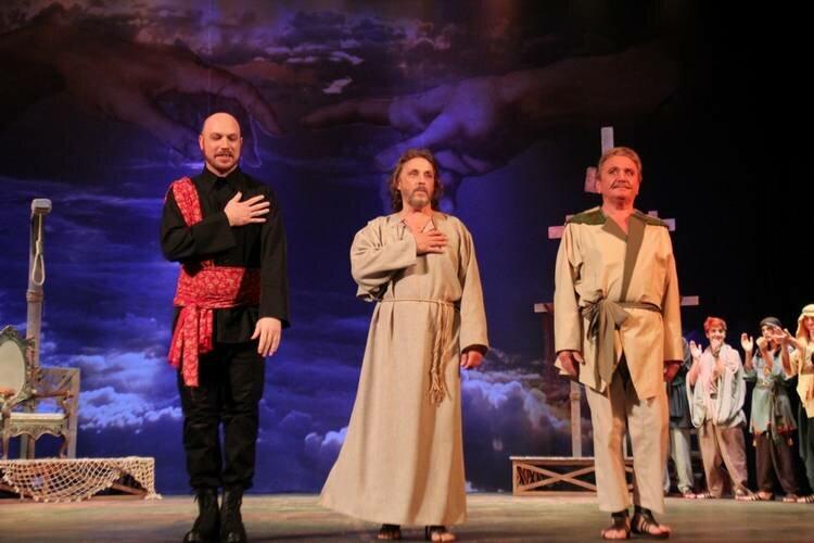 """Театр """"Рок-опера"""".  Спектакль «Иисус Христос — суперзвезда»."""