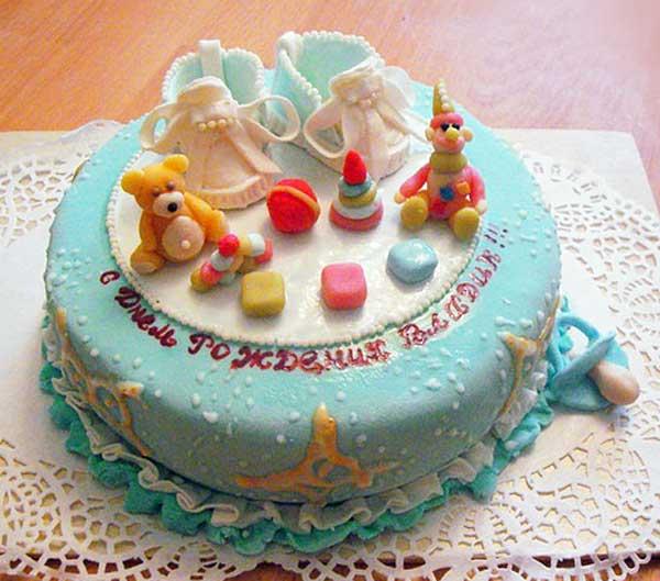 Прикольные торты на день рождения ребенку 35