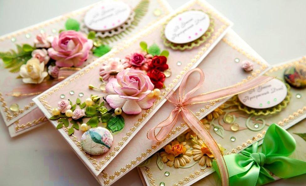 Открытка с днем рождения своими руками для денег, открытки цветами