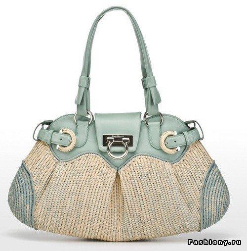 Коллекция женских сумок Salvatore Ferragamo весна-лето 2009